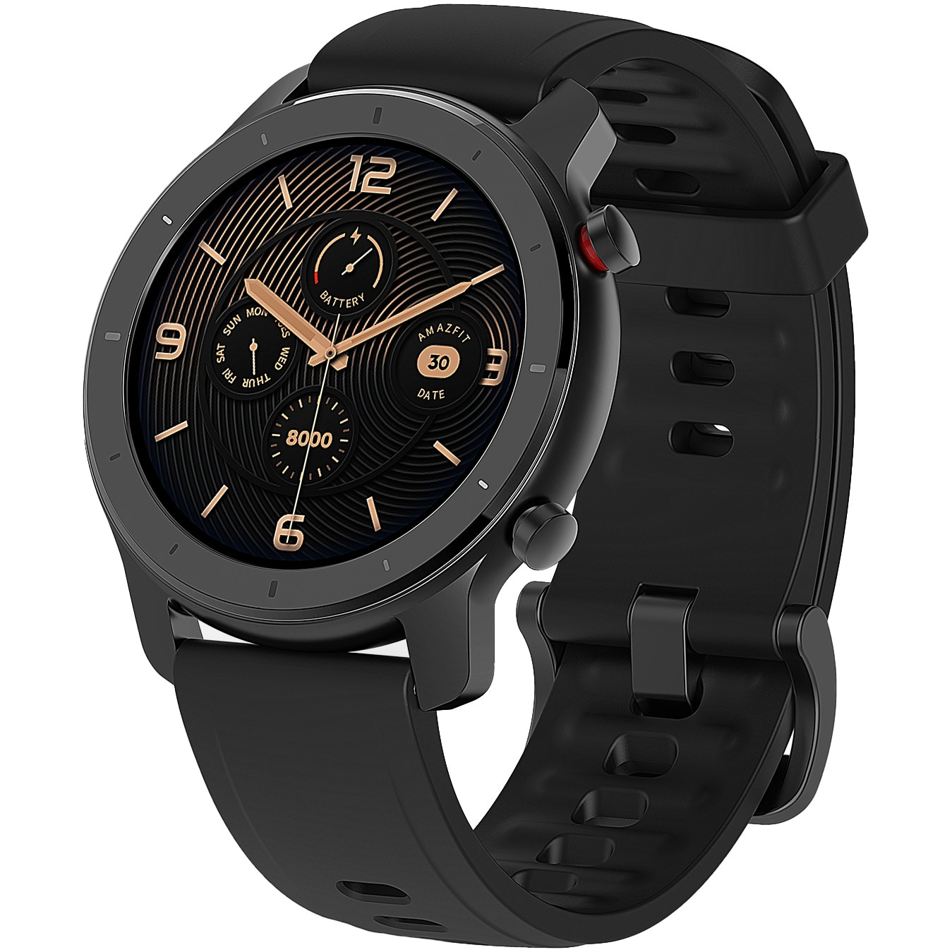 Fotografie Ceas smartwatch Amazfit GTR, 42mm, Starry Black