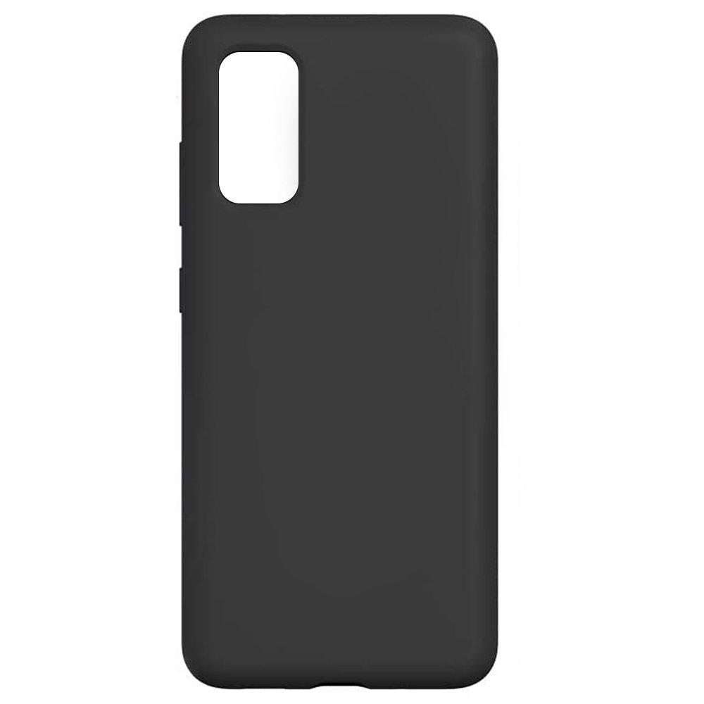 Fotografie Husa de protectie Just Must Defense Liquid Silicone pentru Samsung Galaxy S20, Black