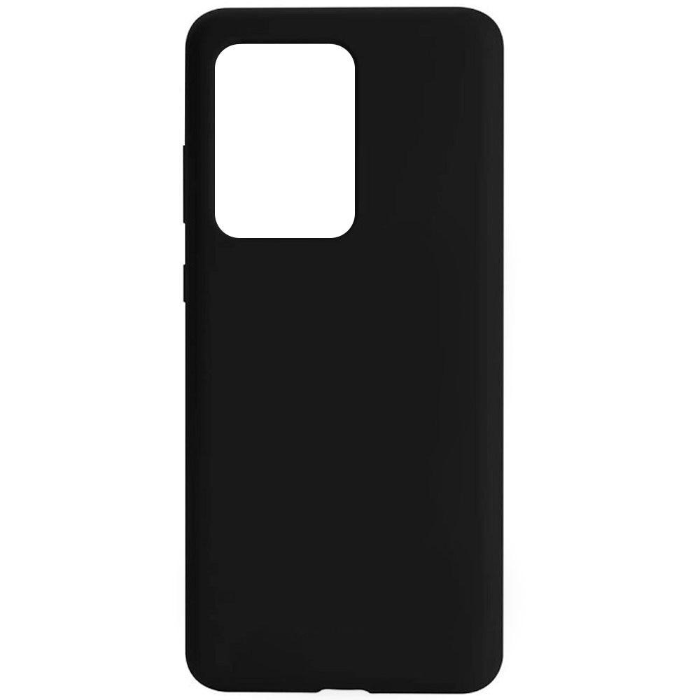 Fotografie Husa de protectie Just Must Defense Liquid Silicone pentru Samsung Galaxy S20 Ultra, Black