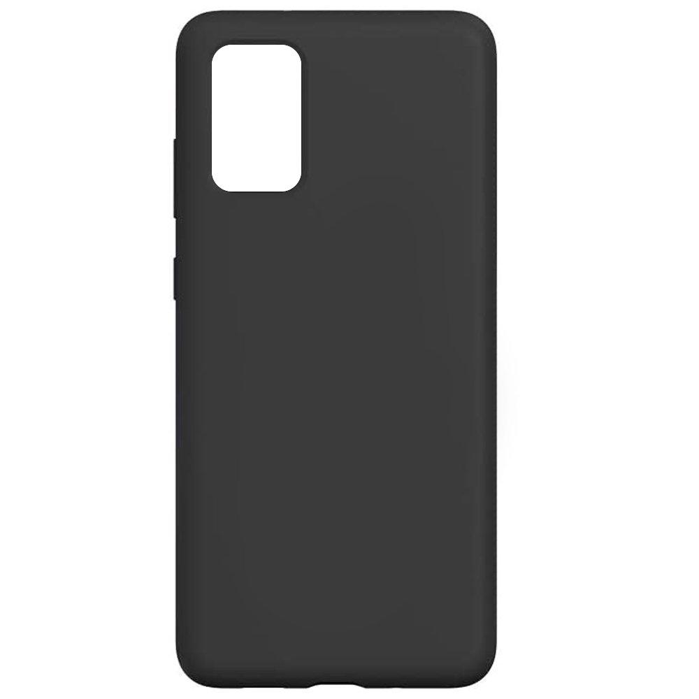 Fotografie Husa de protectie Just Must Defense Liquid Silicone pentru Samsung Galaxy S20 Plus, Black