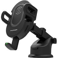 Ravpower RP-SH007 vezeték nélküli töltővel, autós telefon tartó, Fekete
