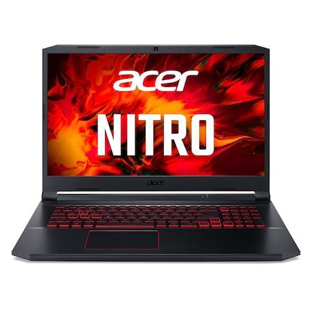 Лаптоп Acer Nitro 5 AN517-52-788H с Intel Core i7-10750H (2.6/5GHz, 12M), 32 GB, 2 TB M.2 NVMe SSD, NVIDIA GTX 1650 Ti - 4 GB GDDR6, Windows 10 Home 64-bit, черен