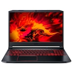 Лаптоп Acer Nitro 5 AN515-55-5317 с Intel Core i5-10300H (2.50/4.50 GHz, 8M), 16 GB, 1TB M.2 NVMe SSD, NVIDIA GTX 1650 Ti - 4 GB GDDR6, Windows 10 Pro 64-bit, черен