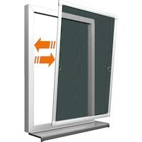 PowerFix alumínium alu keretes 120x100cm szúnyogháló ablakra, 100 x 120 cm szúnyoghálós ablak