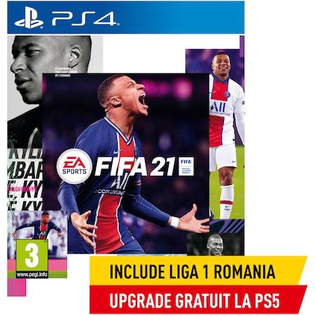 Игра FIFA 21 за PlayStation 4 (включва ъпгрейд за PlayStation 5)