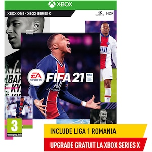Joc FIFA 21 pentru Xbox One (include upgrade la Xbox Series X)