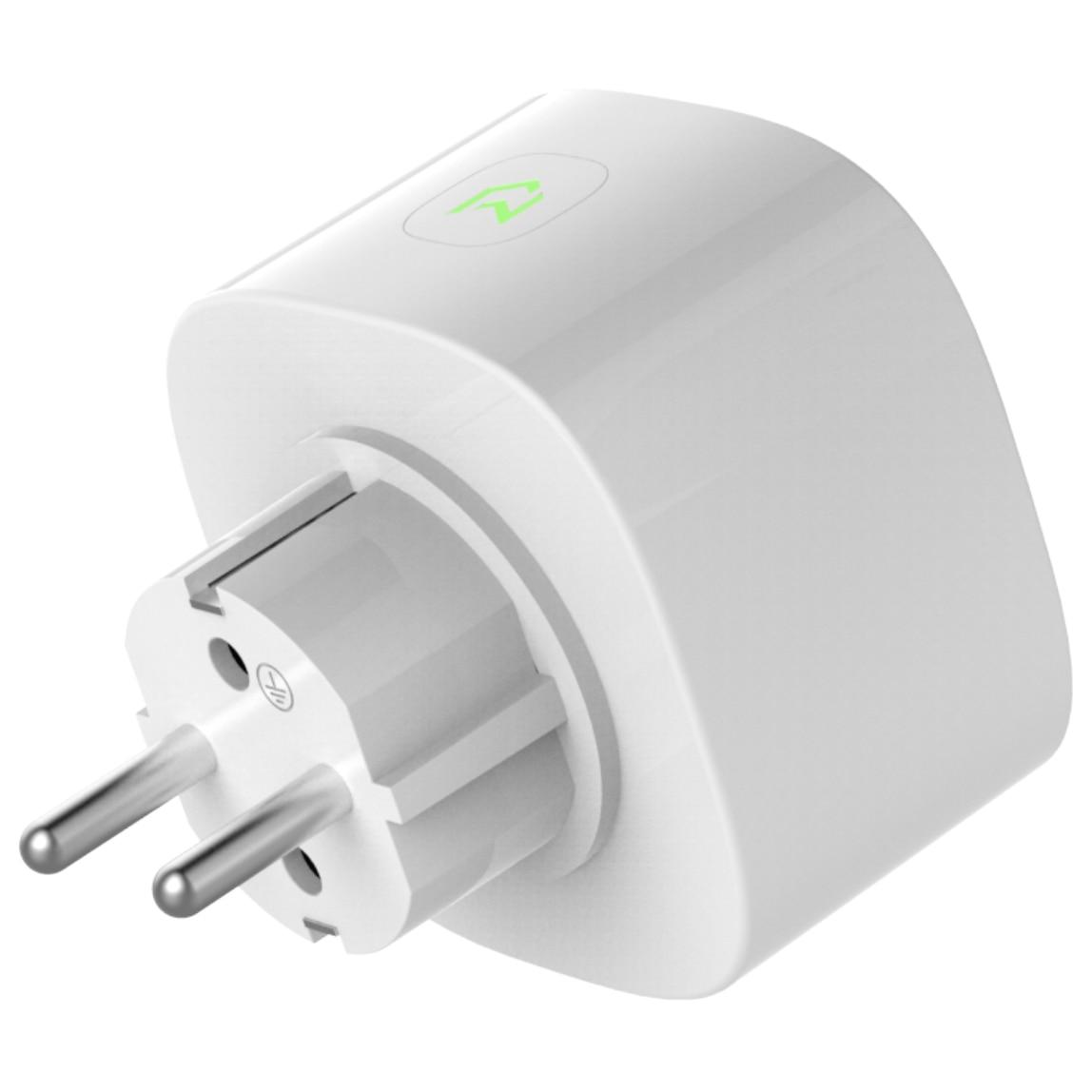 Fotografie Priza inteligenta Meross MSS310, Wireless, cu monitorizare consum, 16 A, compatibil iOS/Android