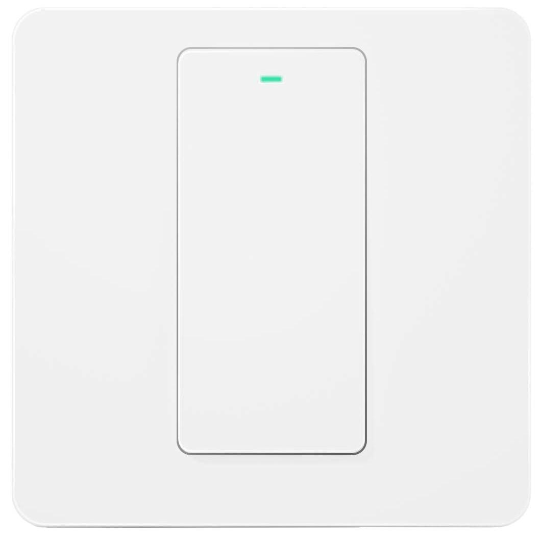 Fotografie Intrerupator inteligent Meross MSS550, Wireless, 2 sensuri, compatibil Alexa/Google Assistant