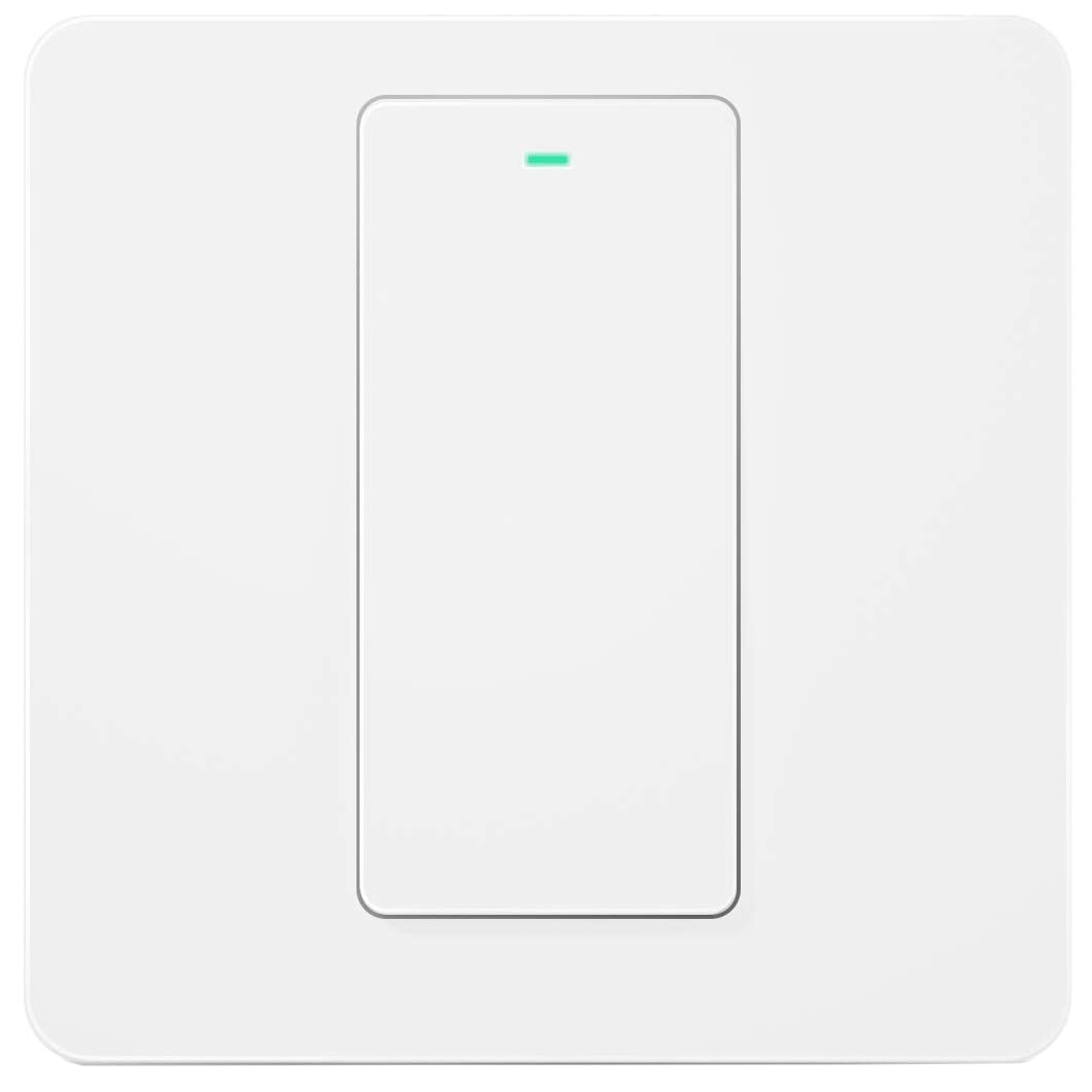 Fotografie Intrerupator inteligent Meross MSS51, Wireless, compatibil Alexa/Google Assistant