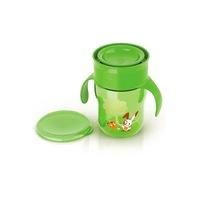 Bájos itató pohár Avent 360° - 260 ml zöld