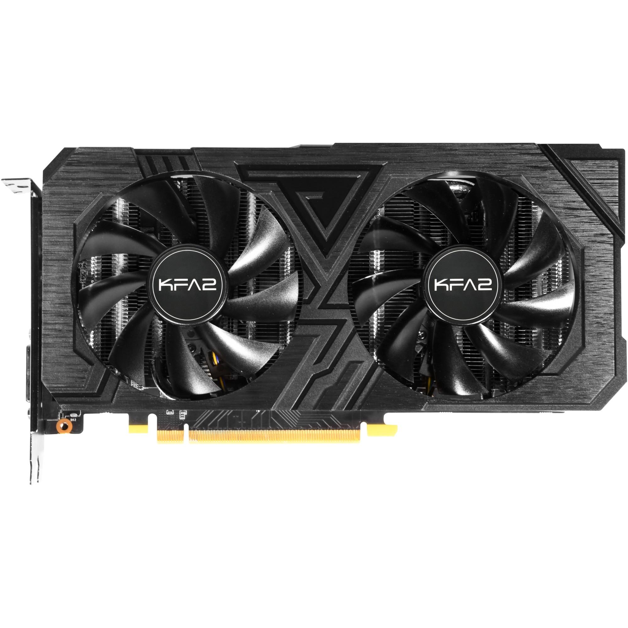 Fotografie Placa video KFA2 GeForce® RTX™ 2060 Ex 1-click OC, 6GB GDDR6, 192-bit