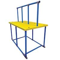 Platforma pentru orele de inot FINIS, 1,83x1,14x0,13 m, Pentru copii, Galben/Albastru