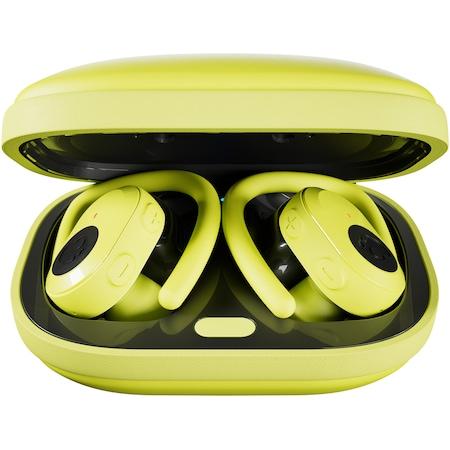 Casti Audio Sport In Ear Skullcandy Push Ultra, True Wireless, Bluetooth, Noise cancelling, Microfon, Autonomie 6 ore, Electric Yellow