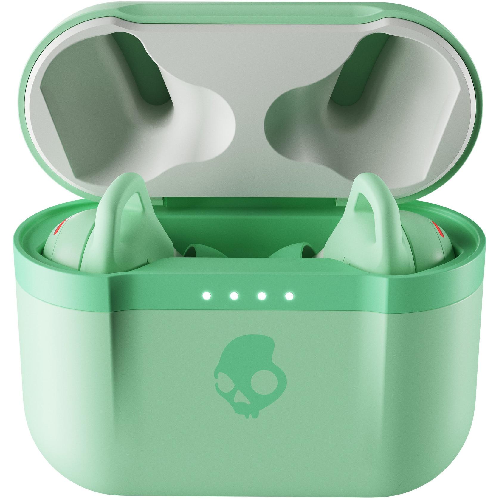 Fotografie Casti Audio In Ear Skullcandy Indy Evo, True Wireless, Bluetooth, Microfon, Autonomie 6 ore, Pure Mint