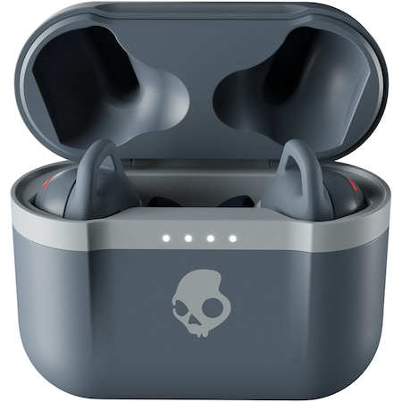 Casti Audio In Ear Skullcandy Indy Evo, True Wireless, Bluetooth, Microfon, Autonomie 6 ore, Chill Gray