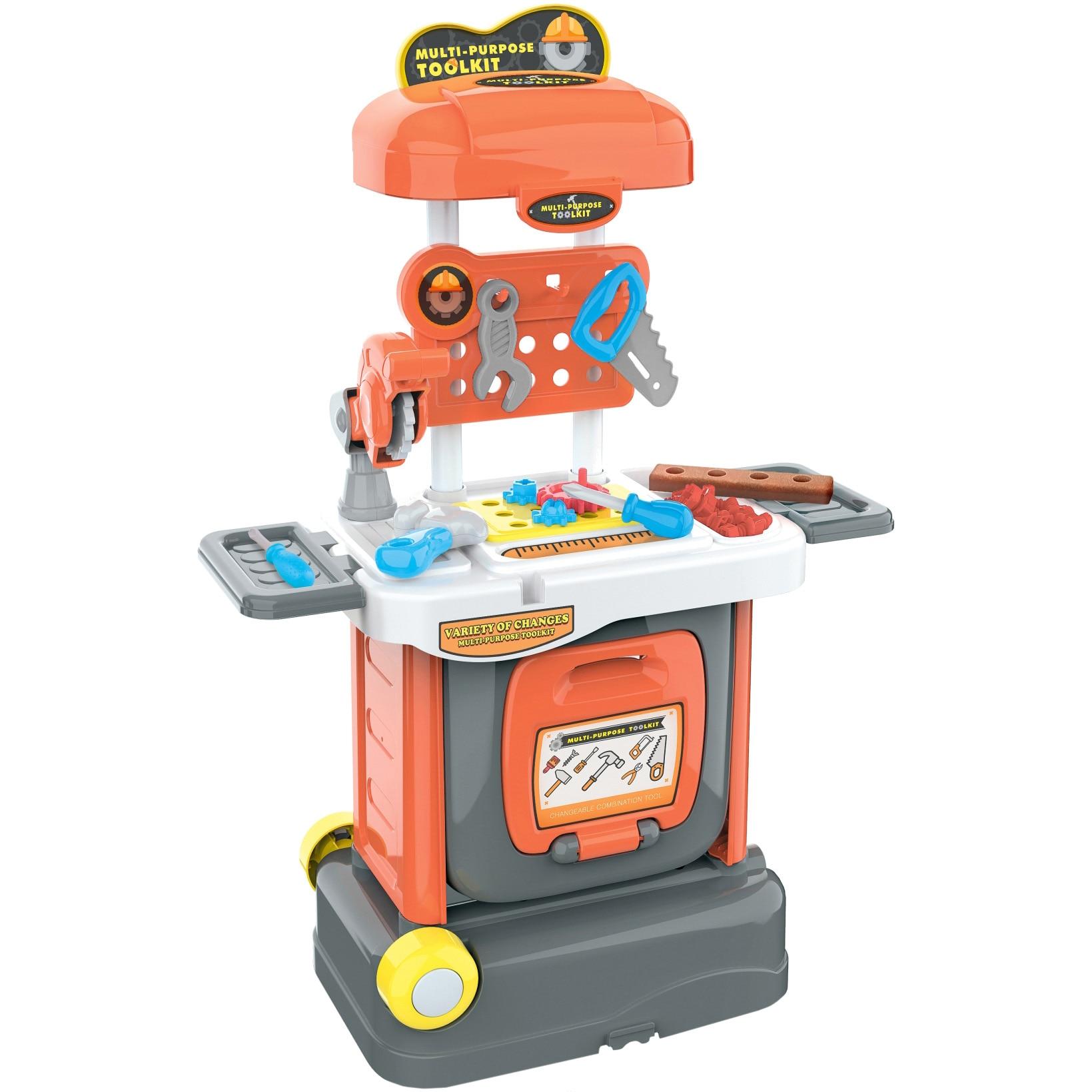 Fotografie Banc de lucru M-Toys, 33 accesorii