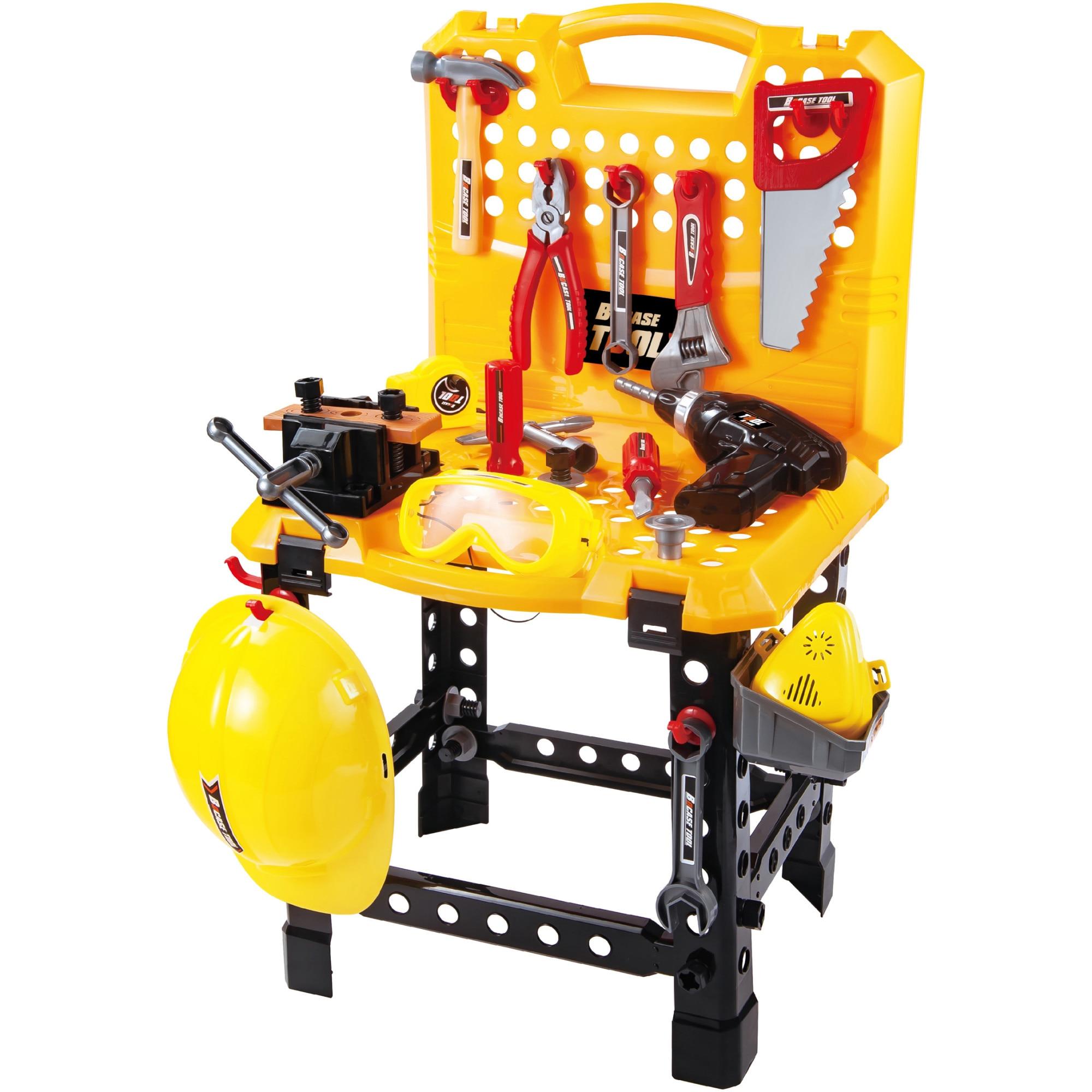 Fotografie Banc de lucru M-Toys, 100 accesorii