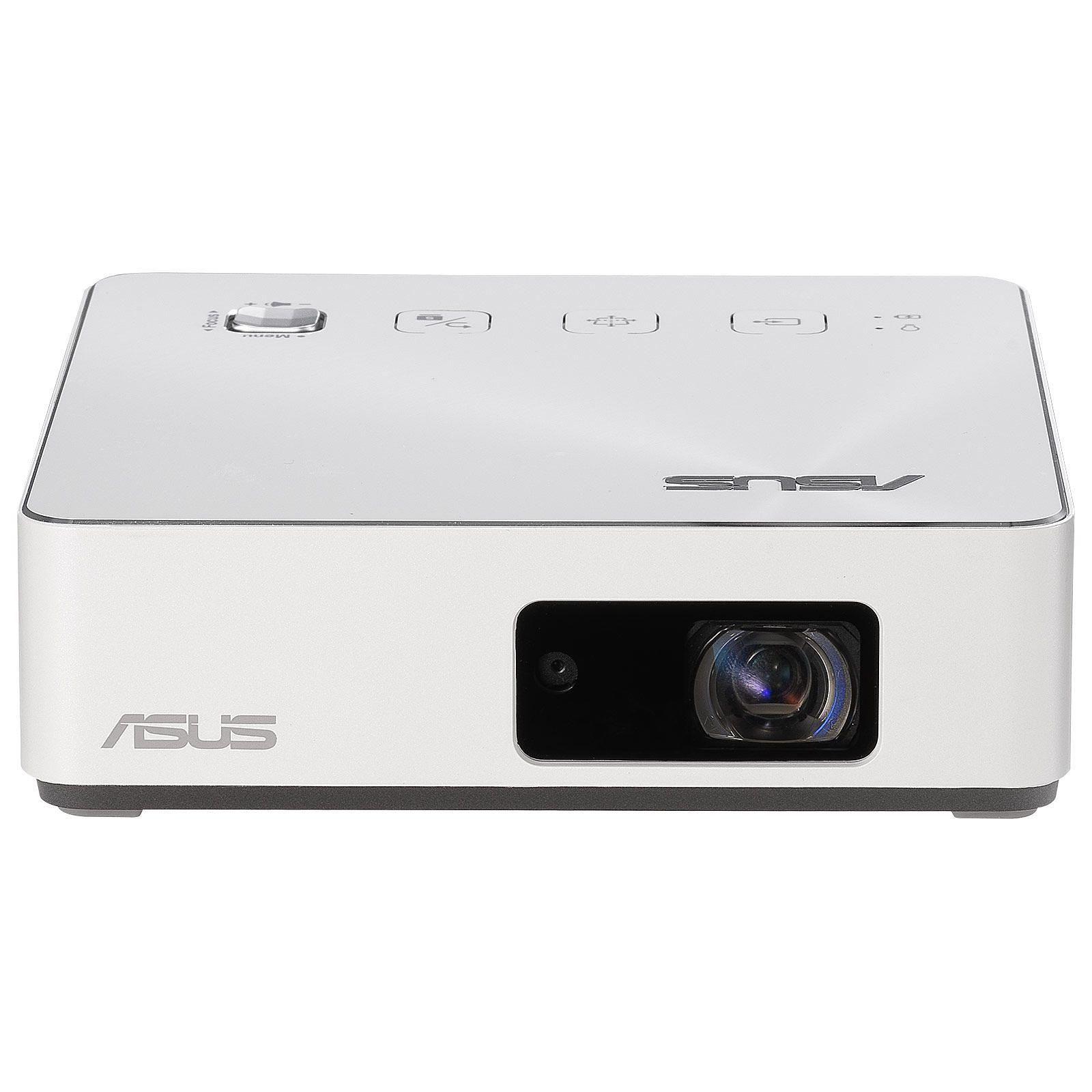 Fotografie Videoproiector ASUS S2 ZenBeam, portabil, DLP, HD 1280x720, 30.000 ore, HDMI, USB-C, alb