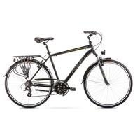 Kerékpár Romet Wagant 1 28 R21 L Me 2020 fekete narancs férfi trekking