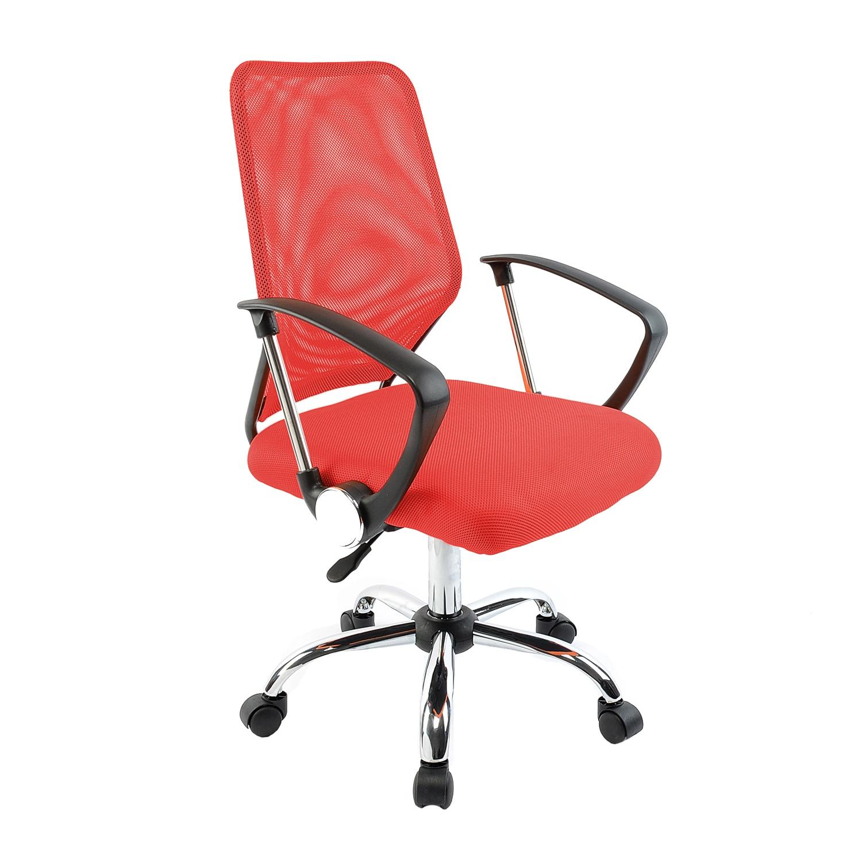 Kring Happy Ergonomikus irodai szék, Hálós, Piros eMAG.hu