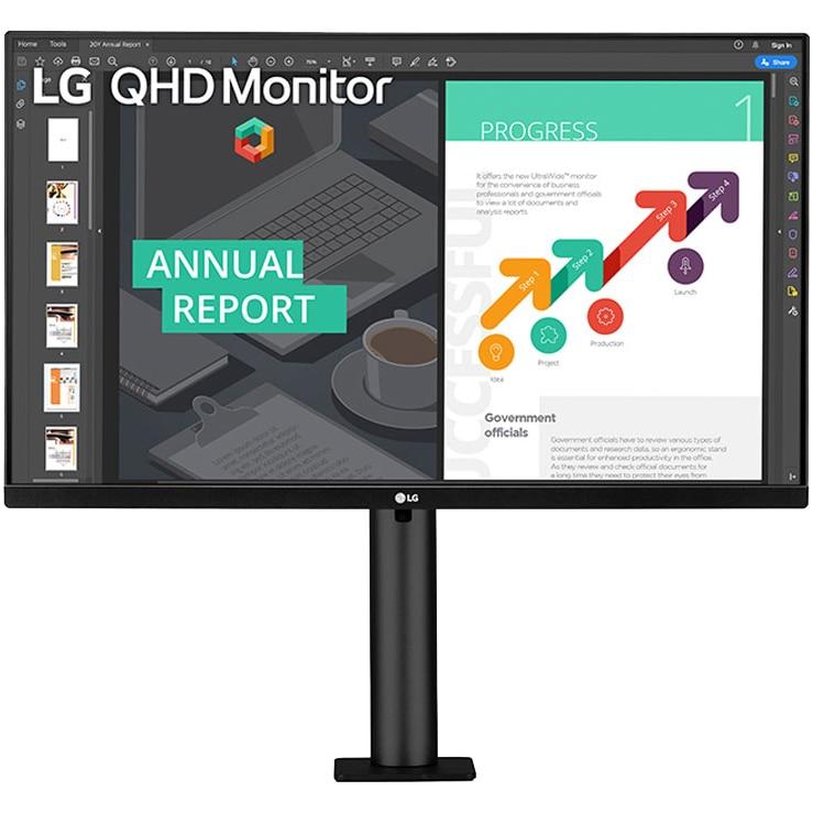 "Fotografie Monitor LED IPS LG 27"", QHD, 75hz, FreeSync, HDMI, HDR10,27QN880"