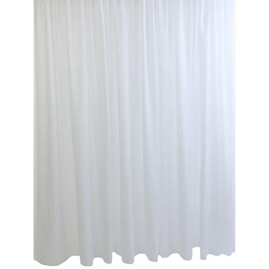 Fotografie Perdea voal cu rejansa Basic Liz Line, 300x245 cm, poliester, alb