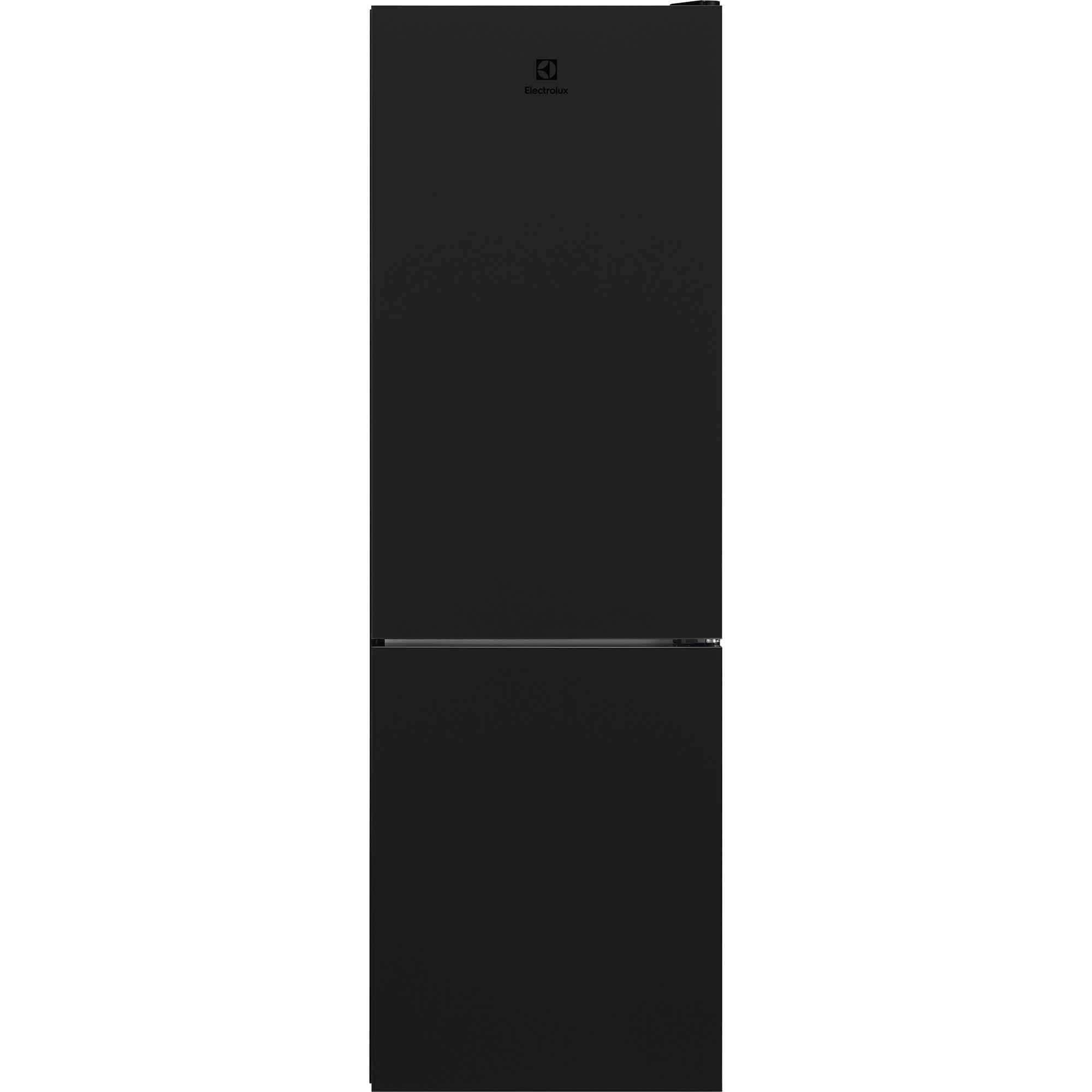 Fotografie Combina frigorifica Electrolux LNT7ME32M1, 324 l, NoFrost, Clasa E, H186 cm, Sticla neagra