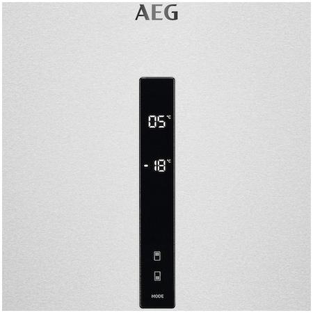 Хладилник с фризер AEG RCB646E3MX, 461 л, NoFrost, Touch control, Клас A++, В 192 см, Inox
