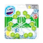 Domestos Power5 WC frissítő blokk, Zöld tea & Citrus, 3x55g