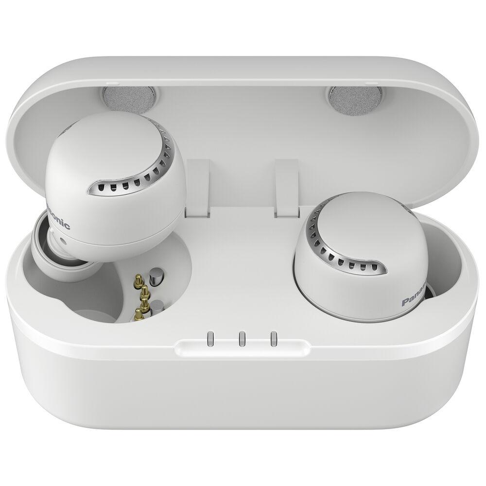 Fotografie Casti Audio In Ear Panasonic RZ-S500WE-W, True Wireless, Bluetooth, Noise cancelling, Microfon, Autonomie 6.5 ore, Alb