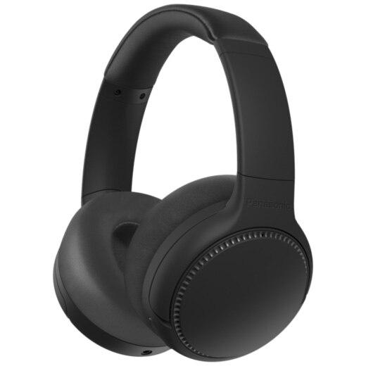 Fotografie Casti Audio Over the Ear Panasonic RB-M500BE-K, Wireless, Bluetooth, Microfon, Autonomie 30 ore, Negru