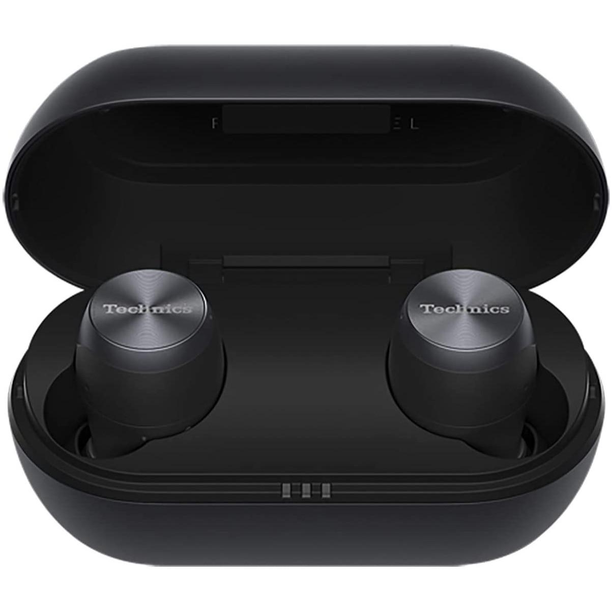 Fotografie Casti Audio In Ear Panasonic EAH-AZ70WE-K, True Wireless, Bluetooth, Noise cancelling, Microfon, Autonomie 6 ore, Negru