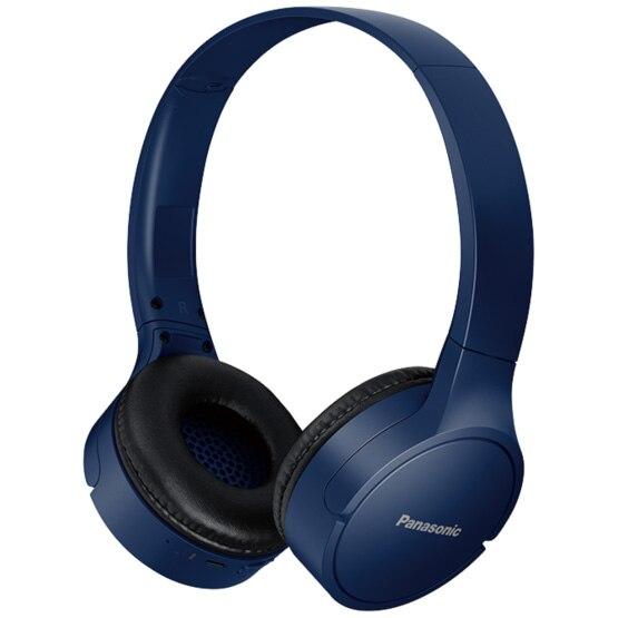Fotografie Casti Audio On Ear Panasonic RB-HF420BE-A, Wireless, Bluetooth, Microfon, Autonomie 50 ore, Albastru
