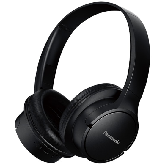 Fotografie Casti PANASONIC RB-HF520BE-K, Extra Bass Wireless, around-Ear, negru