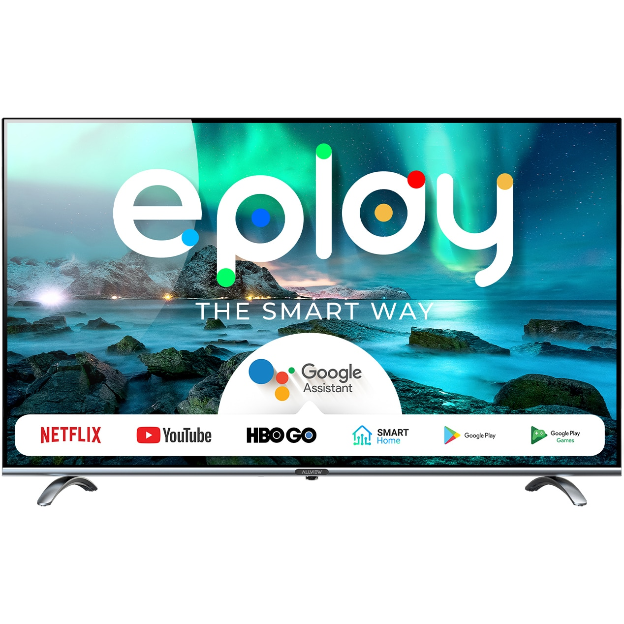 Fotografie Televizor Allview 32ePlay6100-H/1, 81 cm, Smart Android, HD, LED, Clasa F
