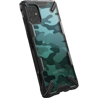 Предпазен калъф Ringke Fusion X, За Samsung Galaxy A51, Camo Black