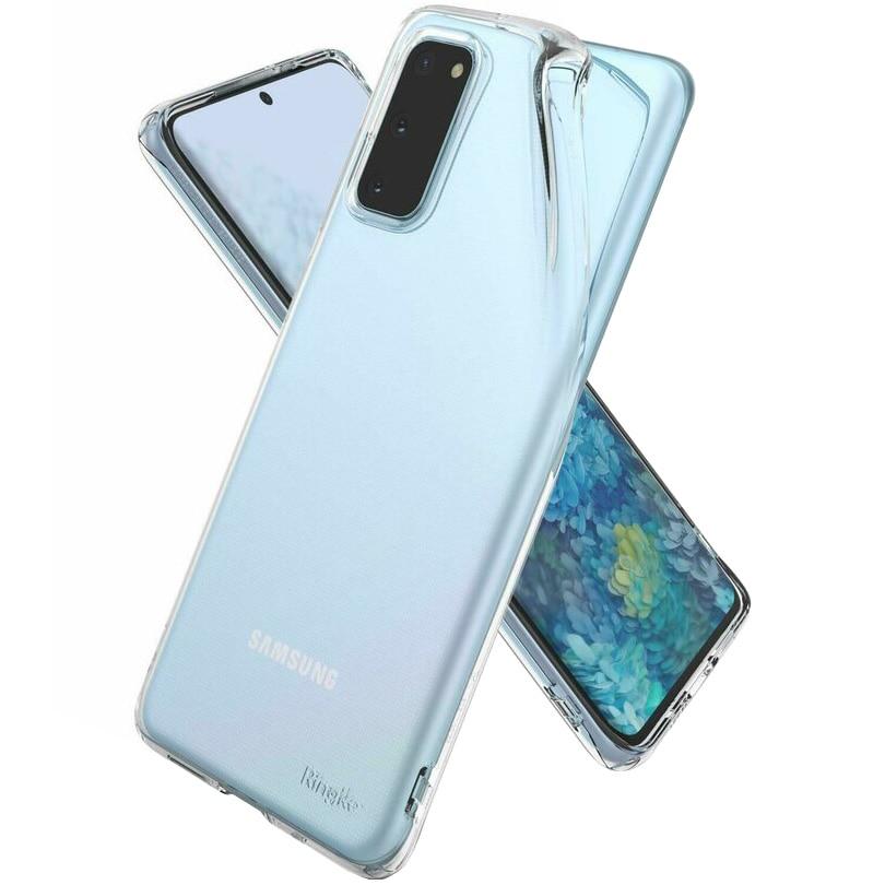 Fotografie Husa de protectie Ringke Air pentru Samsung Galaxy S20, Clear