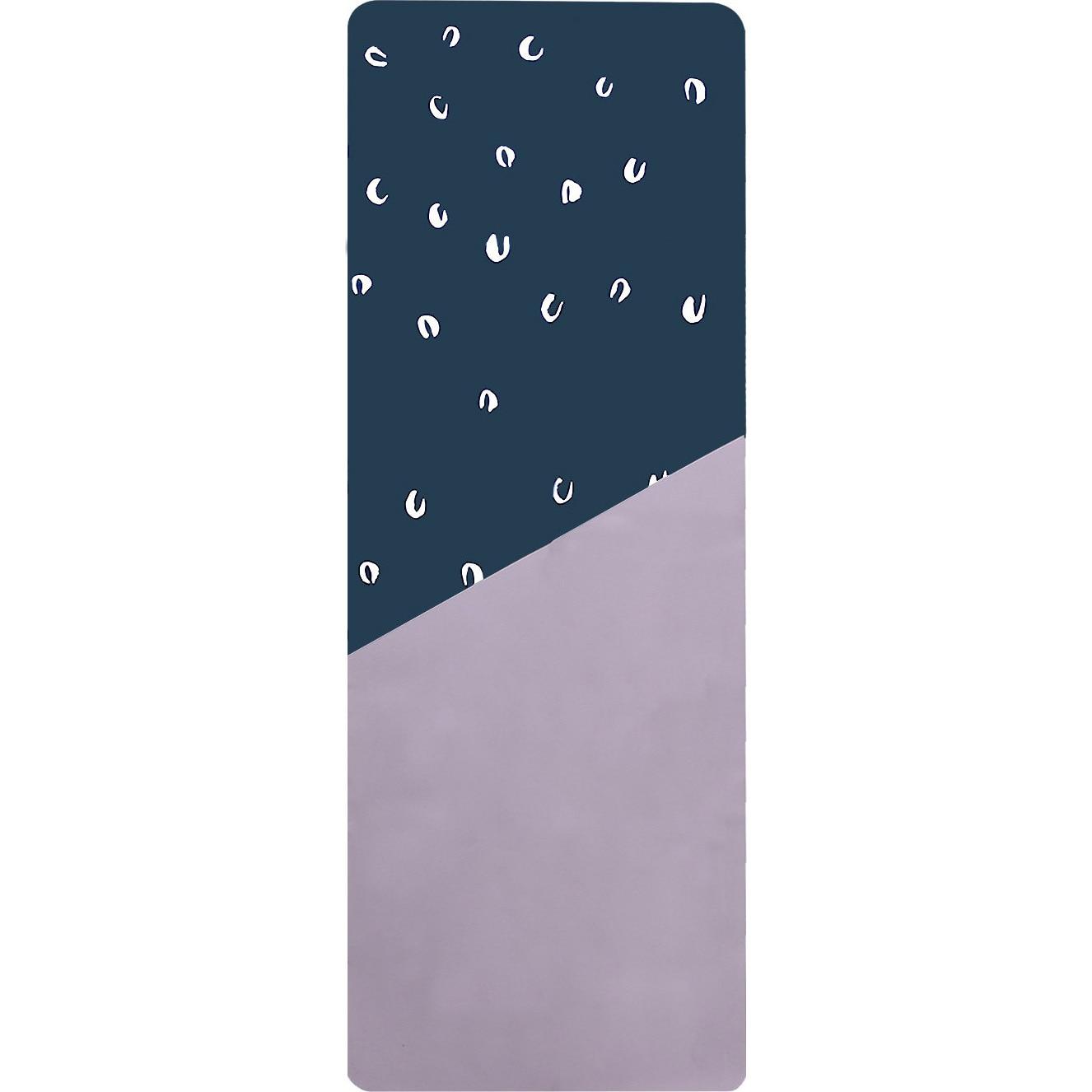 Fotografie Saltea yoga, dimensiune 170 x 61 cm, 0.2 cm grosime, culoare albastru