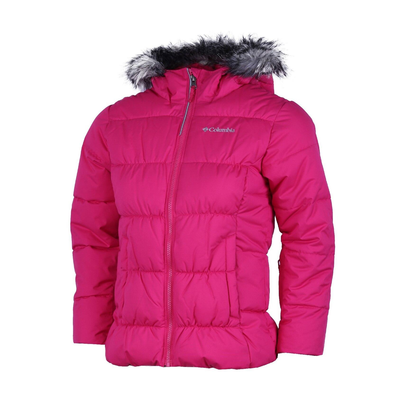 Columbia Gyroslope Jacket Gyerek utcai kabát Red Element S