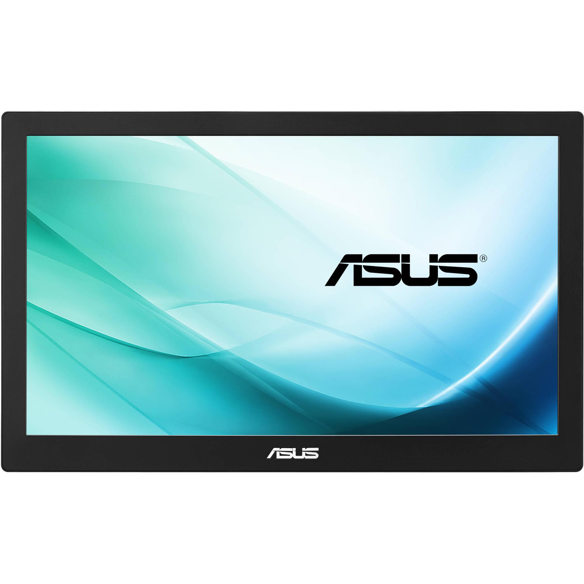 "Fotografie Monitor portabil LED IPS ASUS 15.6"", Wide, Full HD, alimentare USB 3.0, Negru, MB169B+"