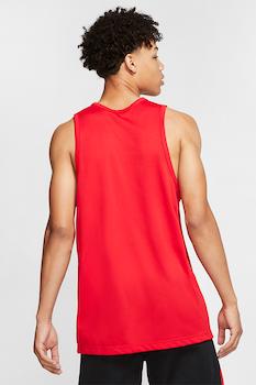 Nike, Dri-Fit kosárlabdatrikó logómintával, élénkpiros
