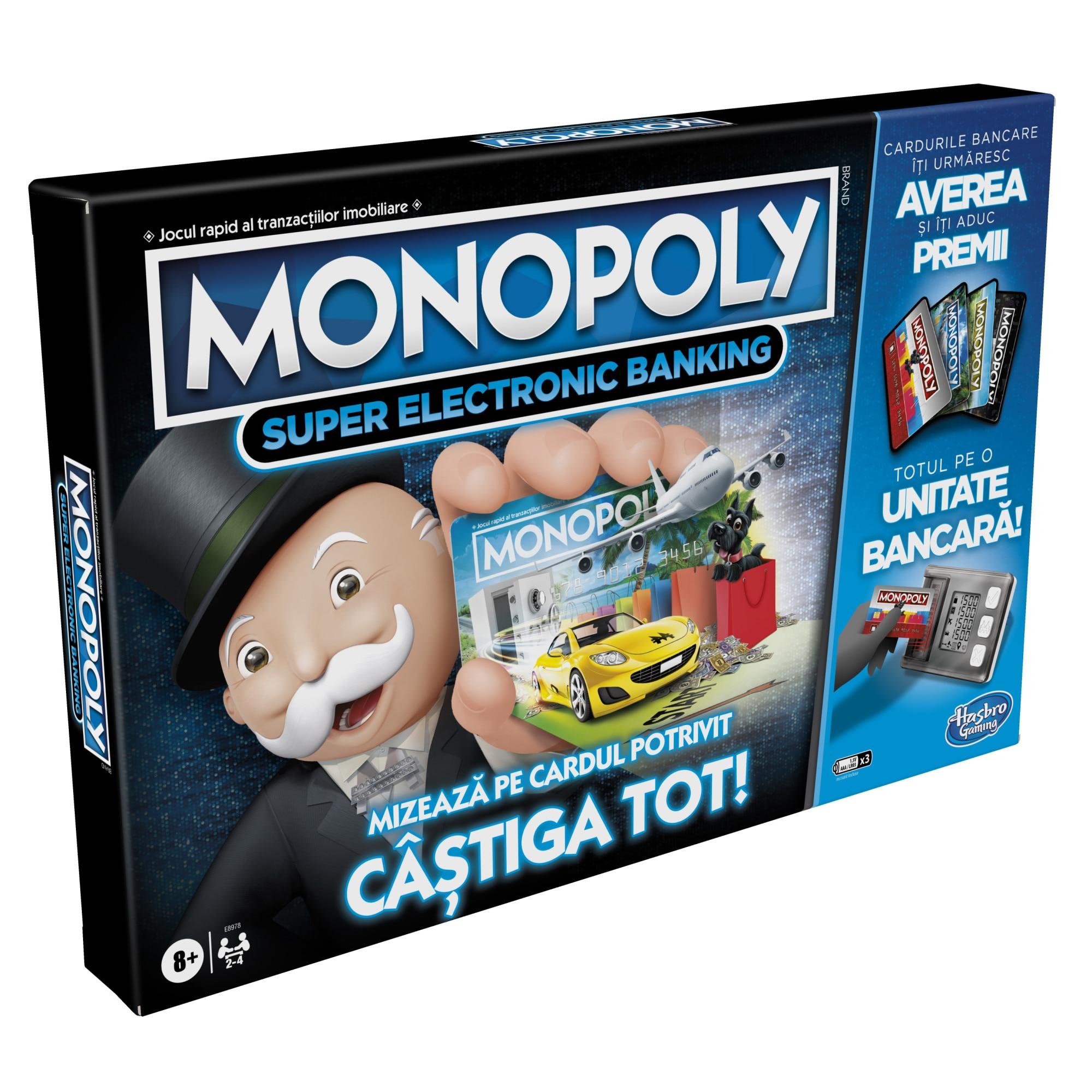 Fotografie Joc Monopoly - Super Electronic Banking
