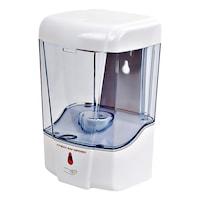 Leexo Automatikus Szenzoros Szappanadagoló, folyékony szappanhoz, habszappanhoz vagy fertőtlenítő gélhez, 600 ml