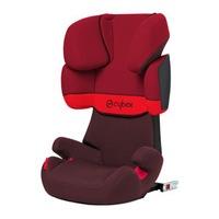Столче за кола ISOFIX Cybex Solution X-Fix, Rumba Red, 15-36 кг, Червен