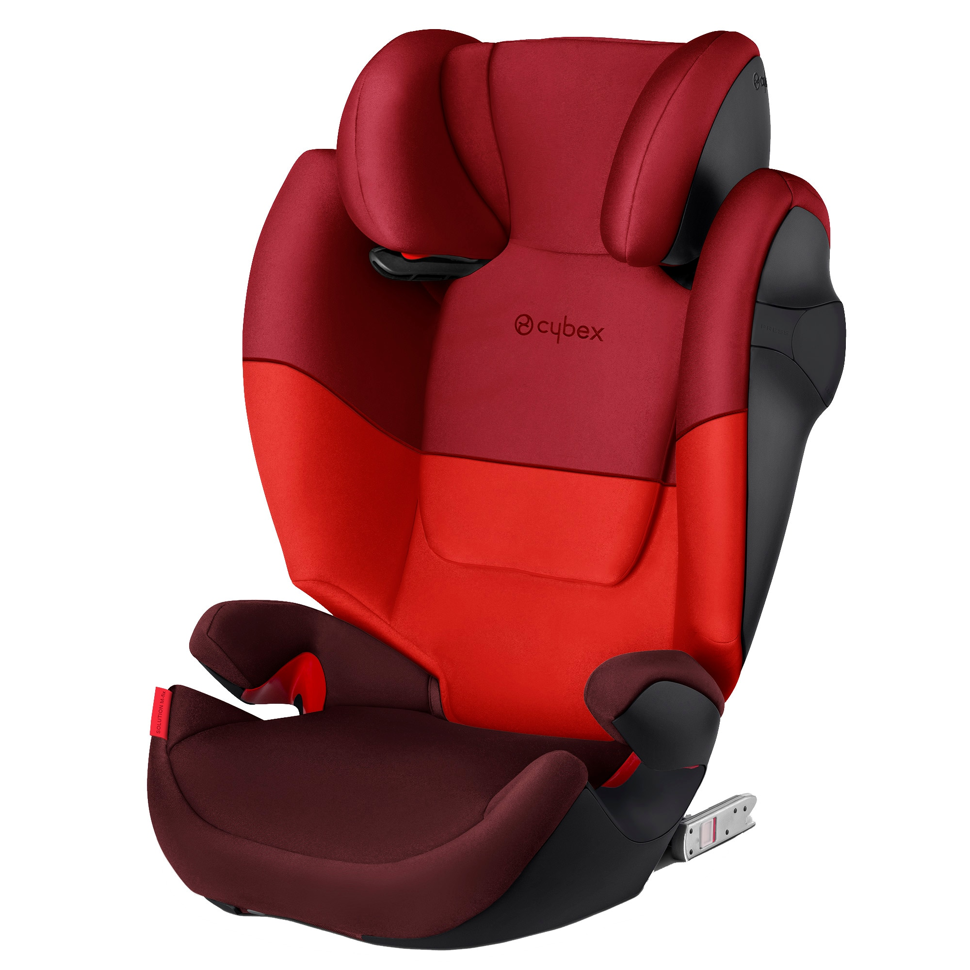 Fotografie Scaun auto ISOFIX Cybex Solution M-Fix SL, Rumba Red, 15-36 kg, Rosu