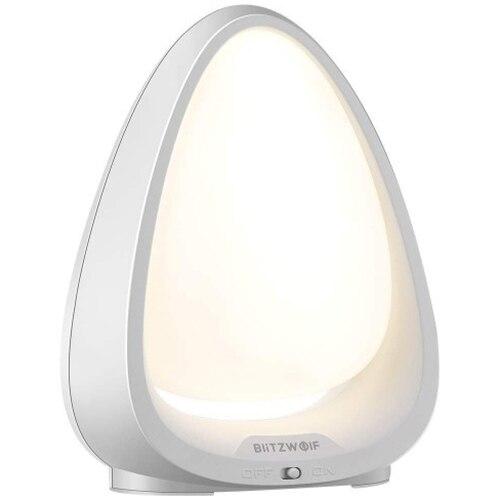 Fotografie Lampa de veghe cu control touch BlitzWolf BW-LT9, LED RGBW, 85 lm, cu acumulator, 600 mAh, incarcare USB, lumina alba (4000K) si colorata