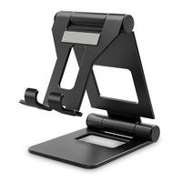 TECH PROTECT - univerzális asztali telefon- és tablettartó állvány, fekete