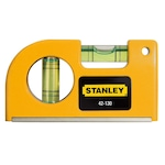 Джобен магнитен нивелир Stanley 0-42-130, 80 мм