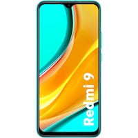 Смартфон Xiaomi Redmi 9, Dual SIM, 64GB, 4G, Ocean Green