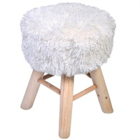scaun cu bobite albe